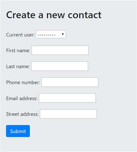 Django form : Setting the user to logged in user - Stack