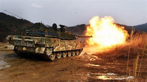 K2전차 기동 및 실사격 훈련 - YouTube