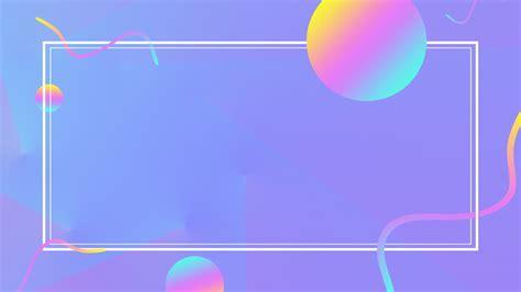 간단한 선 색상 그라디언트 Ppt 배경, 선, 라운드, 단순한 무료