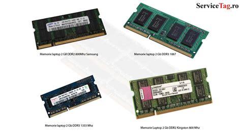 Memorie Ram Laptop Ddr3, Ddr2 Sodimm 2, 4, 8 Gb - YouTube