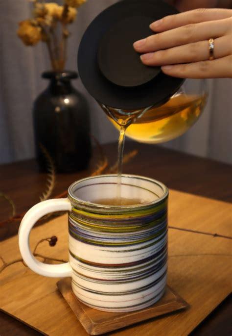 오(五)색머그컵-오방색연리문시리즈#2_2 | 아이디어스 - 핸드