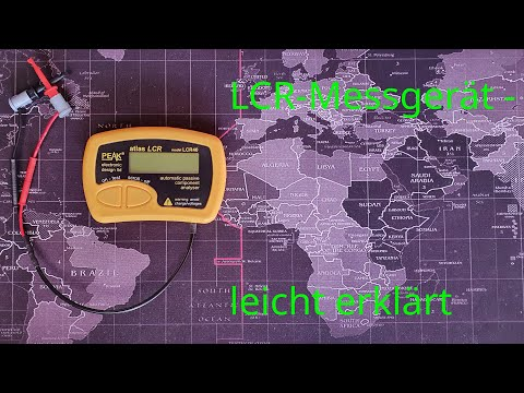 Mastech MS5308 LCR Tester - YouTube