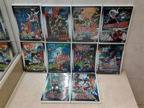 윈도우 포럼 - 회원 장터 - 한국 80년대 극장용 애니메이션 DVD 10종