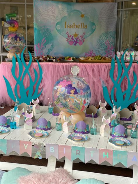 Fintastic Mermaid Themed Birthday Party - Pretty My Party