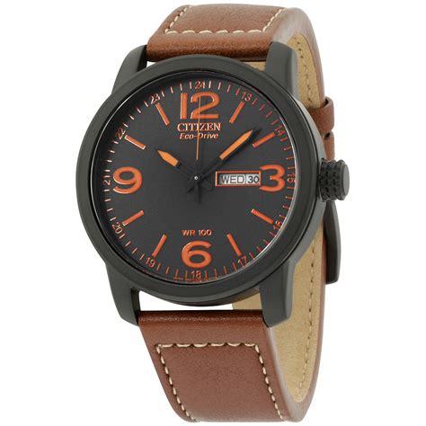 Citizen Chandler Eco-Drive Black Dial Men's Watch BM8475