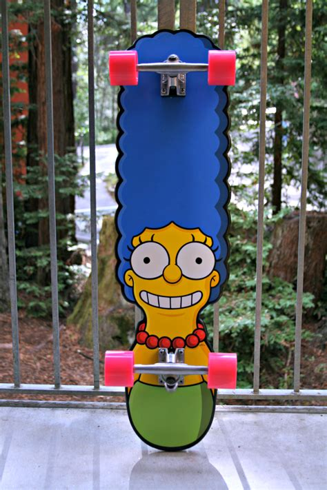 심슨 스케이트보드 Simpsons The Homer Cruzer Skateboard