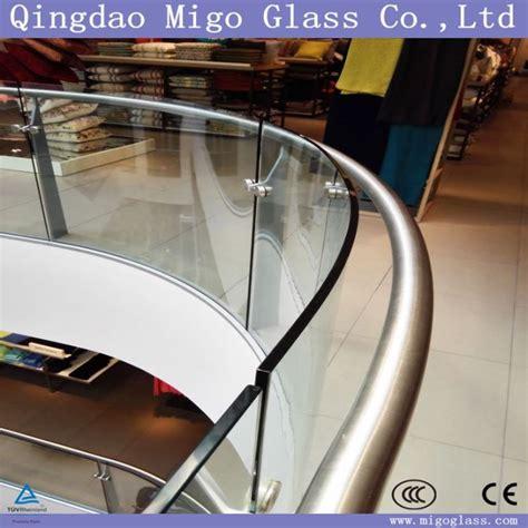 Migo 곡선 안전 유리 난간 제조 업체 및 공급 업체 - 도매 공장