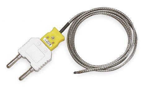 EXTECH Type K Mini Jack with Dual Banana Plug Adapter K