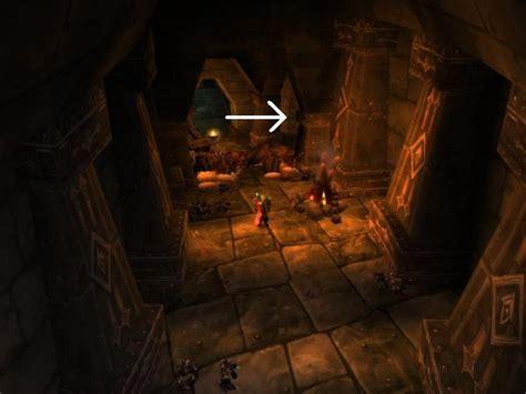 또 다른 이야기 :: 와우 대격변 베타 검은바위 동굴 입구