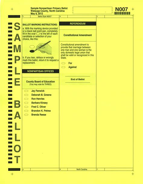 Board of Elections Releases Sample Ballots; Obama