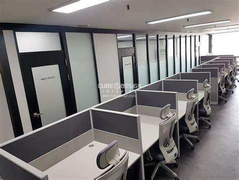 사무실인테리어 포트폴리오 - 수원 화성 병점 사무실 인테리어 30평