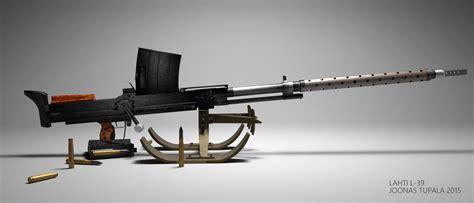 Lahti-l39 Finnish anti-tank rifle : GunPorn