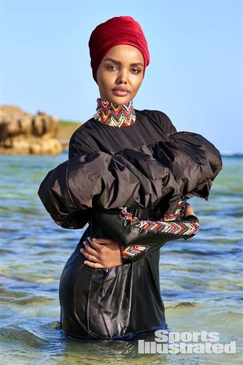 패션엔 :: 히잡 쓴 무슬림 모델, 이번엔 부르키니 수영복 모델로