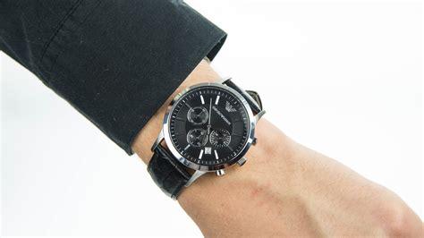 Armani Chronograph Strap Watch AR2447 - YouTube