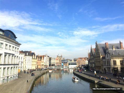 벨기에 여행 | 벨기에의 항구 도시 겐트 Ghent :: 봉모망