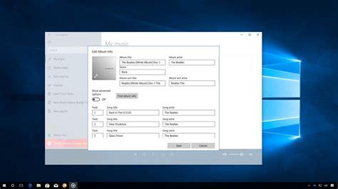 How to edit music metadata info on Windows 10   Windows