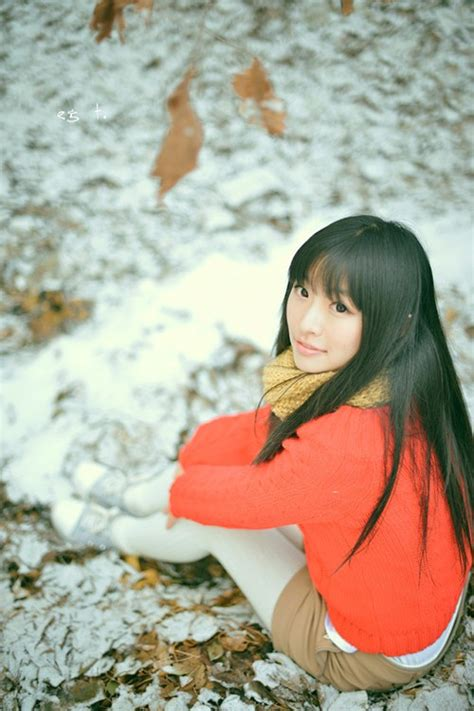 Chinese very pure girl's photos(28)-College students