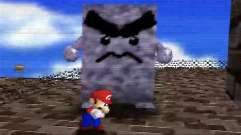 The Super Mario 64 beta Whomps were too pure, too