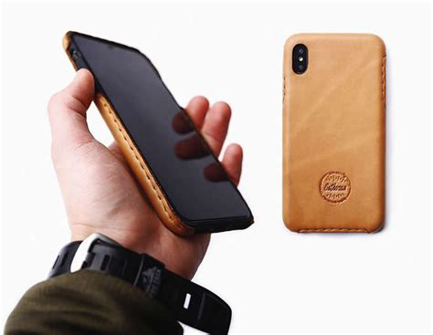 Handmade Genuine Leather iPhone Protective Case Cover