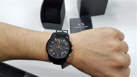 Armani Exchange Men's AX1326 Black Silicone Quartz Watch