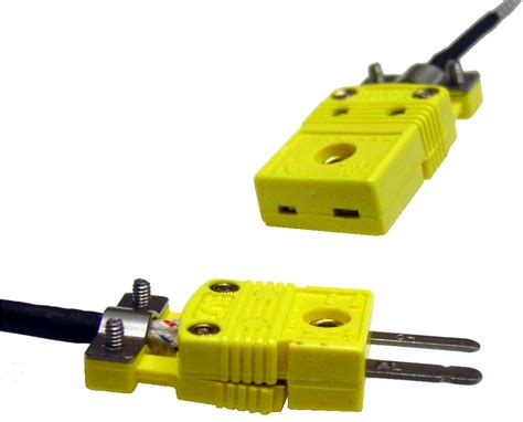 Inline Mini Connector Pair for K type Thermocouple [TCCON2