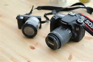 DSLR 카메라 VS 미러리스 카메라 어떤 선택이 좋을까? - 캐논 70D