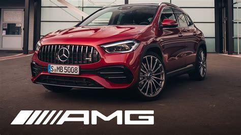 Mercedes-AMG GLA 35 4MATIC (2020): Walkaround - YouTube