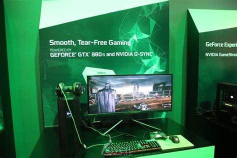 녹색 슈퍼컴퓨터의 물결! 그래픽 깎는 노인 '엔비디아' 부스 풍경