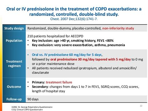 Systemic corticosteroids in the treatment of acute