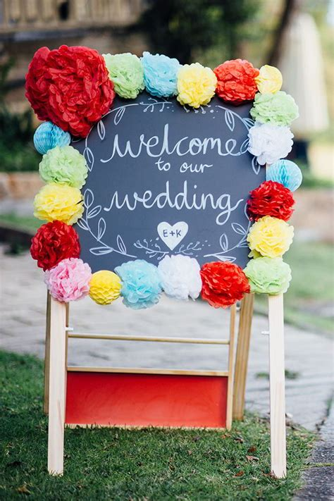 26 Cute And Clever Wedding Signs Ideas That's Perfect Fits